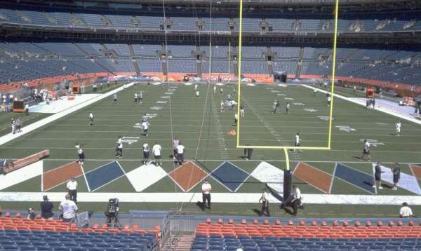 Broncos Stadium at Mile High, section: 132