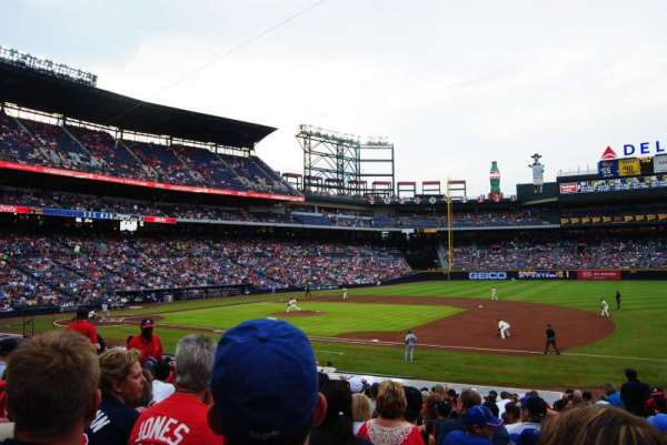 Turner Field, section: 117, row: 23, seat: 103