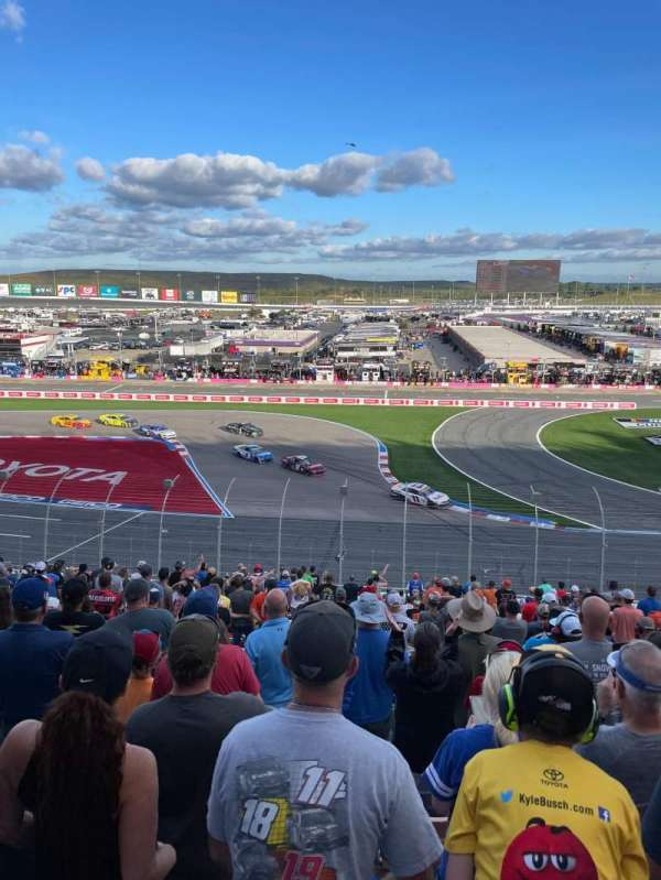 Charlotte Motor Speedway, section: CHRY A, row: 36, seat: 12