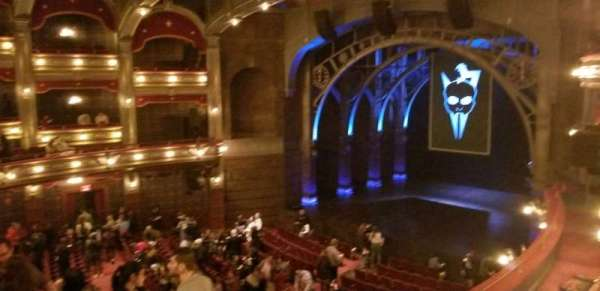 Lyric Theatre, section: Dress Circle R Box C, row: A, seat: 2,3,4