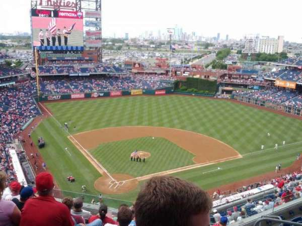 Citizens Bank Park, section: 419, row: 9, seat: 8