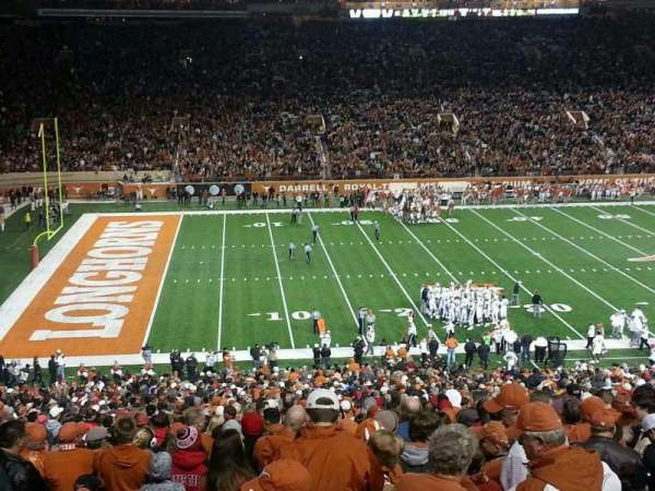 Texas Memorial Stadium, section: 31, row: 66, seat: 7
