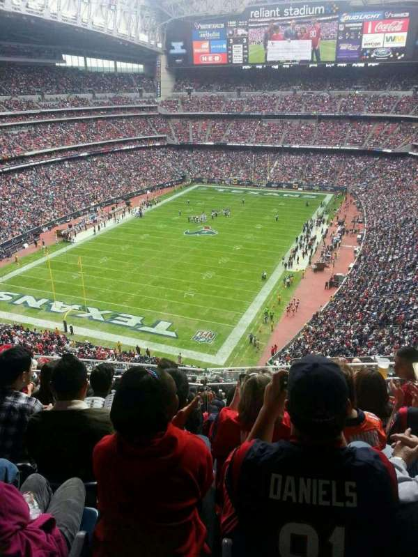 NRG Stadium, section: 618, row: E, seat: 11