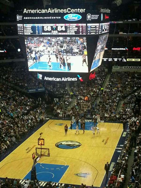 American Airlines Center, section: 333, row: A, seat: 15