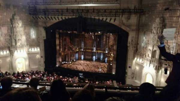 Orpheum Theatre (San Francisco), section: Balcony, row: D, seat: 124