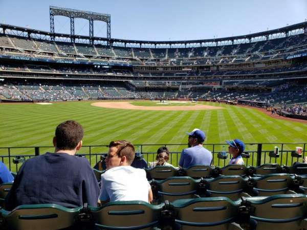 Citi Field, section: 136, row: 5, seat: 16