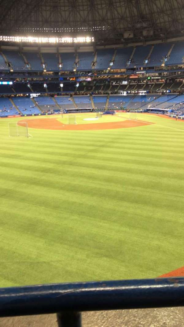 Rogers Centre, section: 243L, row: 1 , seat: 1-3