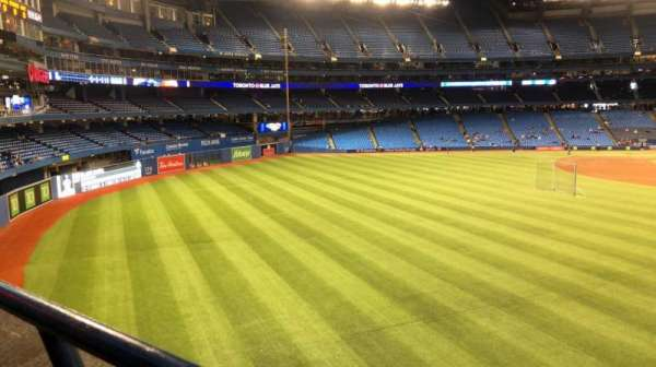 Rogers Centre, section: 243L, row: 1, seat: 1-3