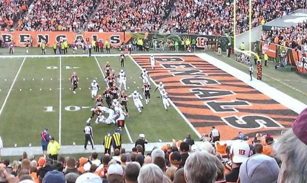 Paul Brown Stadium, section: 136, row: 32, seat: 15