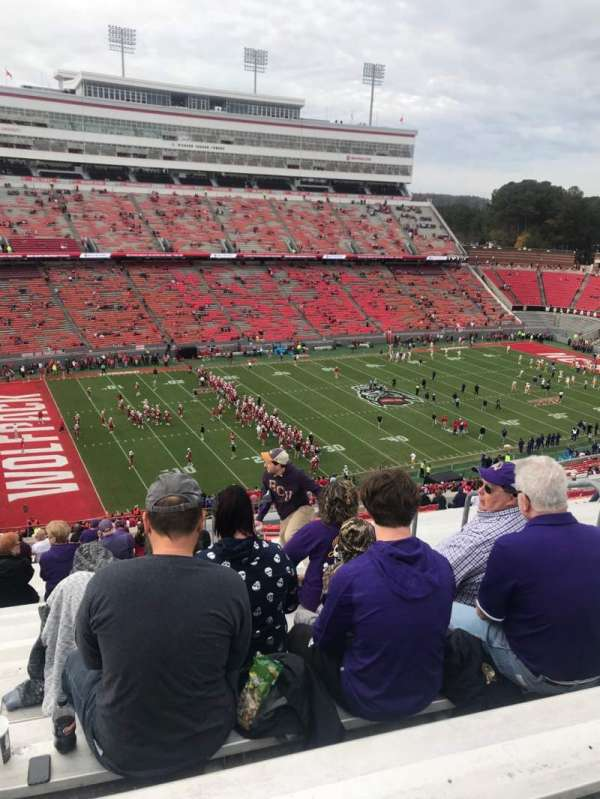 Carter-Finley Stadium, section: 15, row: EE, seat: 25
