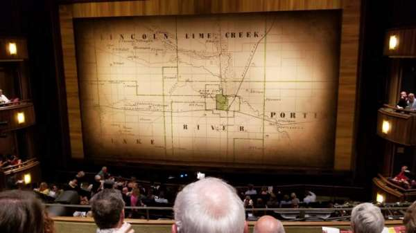 Goodman Theatre - Albert Theatre, section: Aisle 5, row: CC, seat: 16