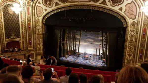 Cadillac Palace Theater, section: Balcony RC, row: H, seat: 328