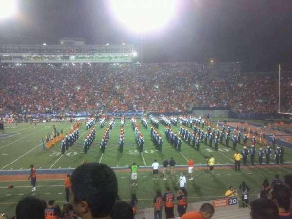 Sun Bowl Stadium, section: 20, row: 22, seat: 12