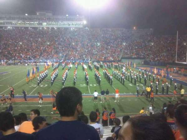 Sun Bowl Stadium, section: 21, row: 20, seat: 14