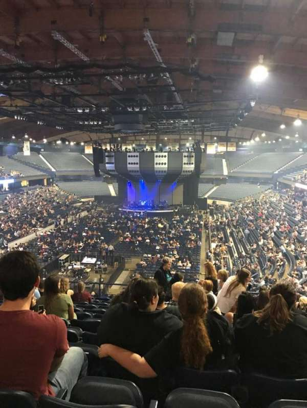Allstate Arena, section: 214, row: M, seat: 11