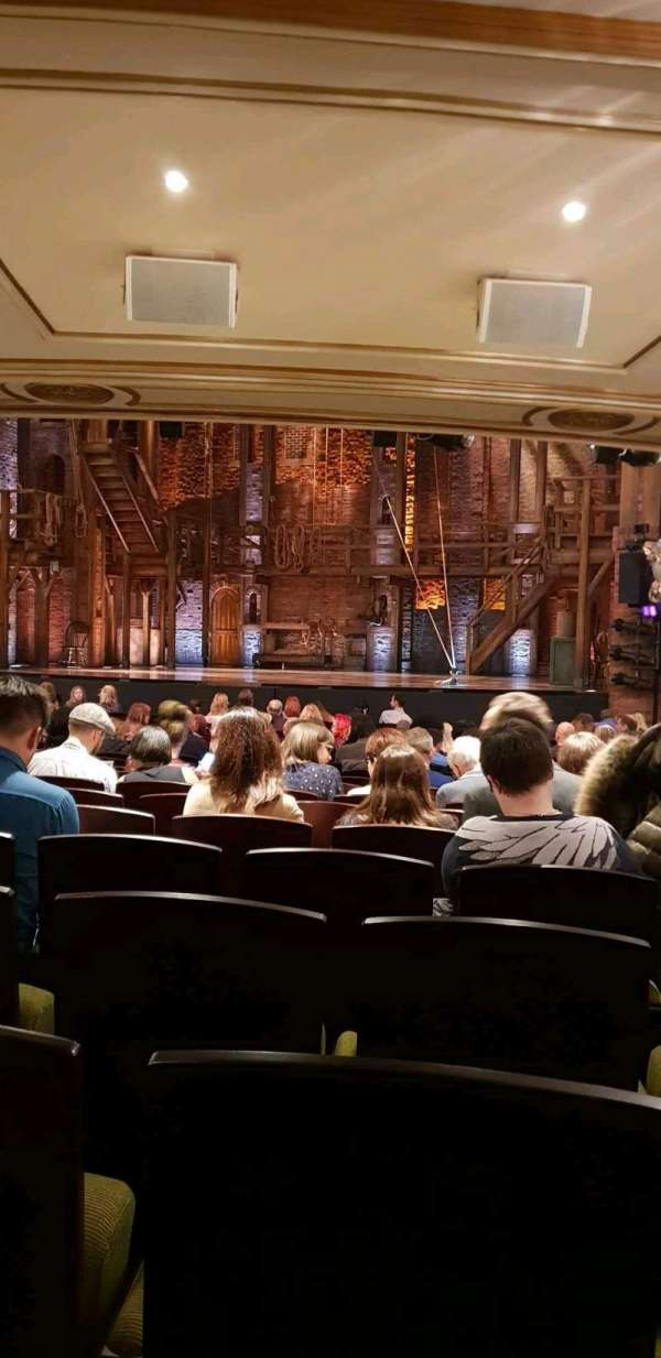Victoria Palace Theatre, section: Stalls, row: T, seat: 13