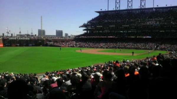 Oracle Park, section: 133, row: 31, seat: 3