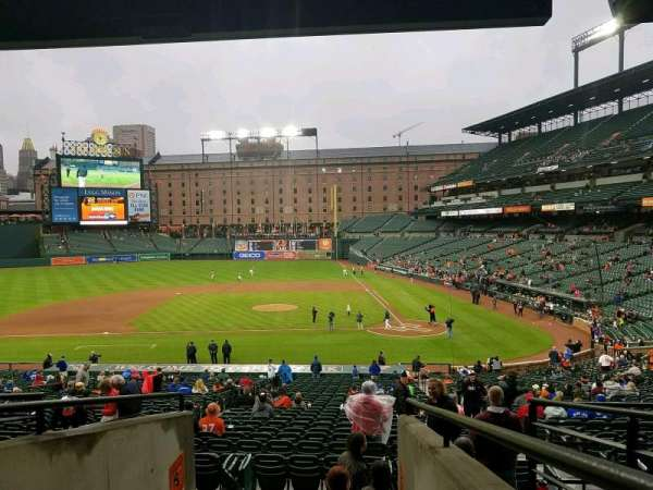 Oriole Park at Camden Yards, section: 47, row: 6, seat: 17