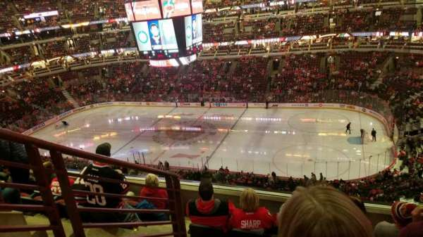 United Center, section: 332, row: 6, seat: 14