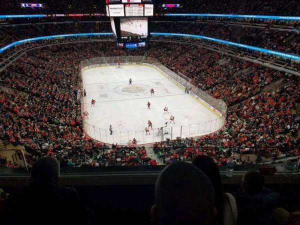 United Center, section: 327, row: 3, seat: 10