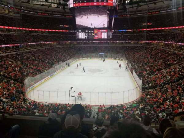 United Center, section: 208, row: 5, seat: 8