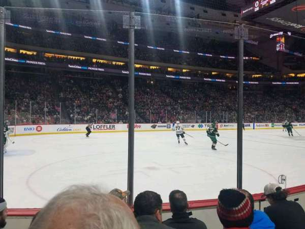 Xcel Energy Center, section: 119, row: 4, seat: 6
