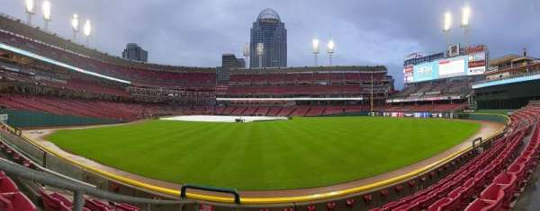 Great American Ball Park, section: 142, row: E, seat: 21