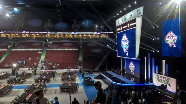 Rogers Arena, section: 104, row: 16, seat: 110
