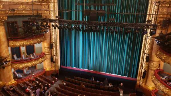 Emerson Colonial Theatre, section: Balcony R, row: A, seat: 114