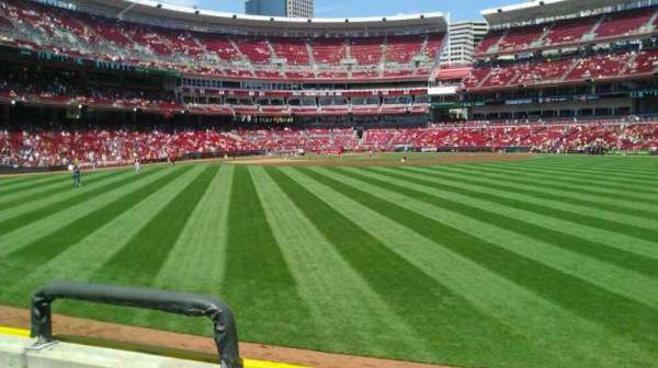 Great American Ball Park, section: 145, row: C, seat: 19