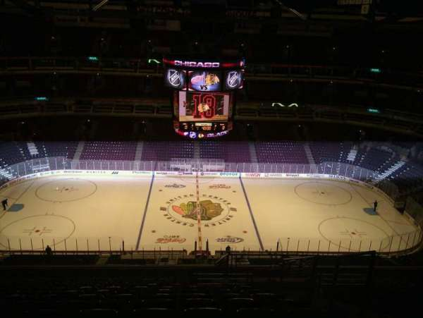 United Center, section: SRO