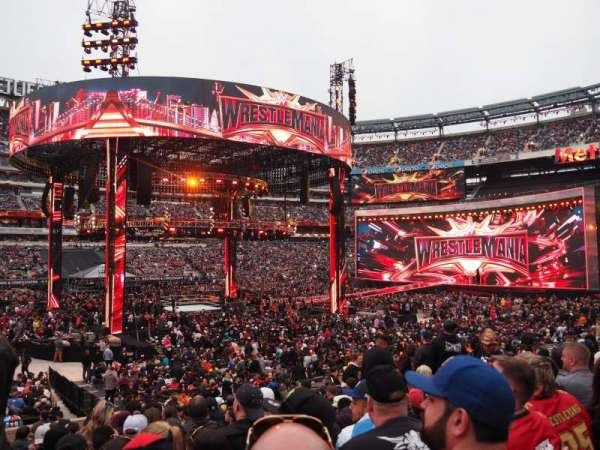 MetLife Stadium, section: 115A, row: 21, seat: 1