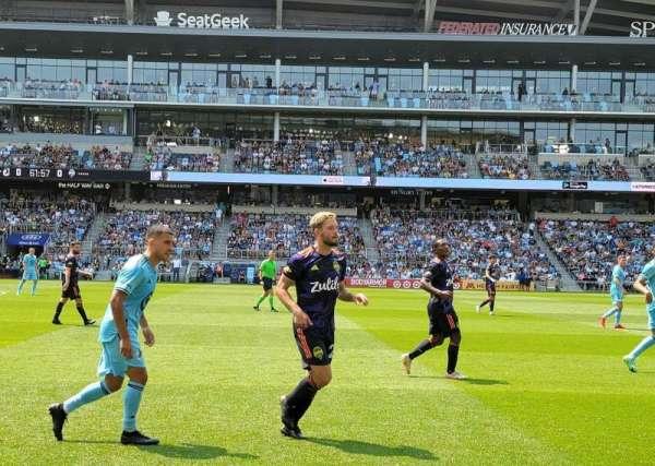 Allianz Field, section: 12, row: 1, seat: 2