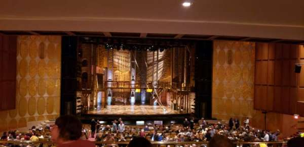 Fisher Theatre, section: MZCTR, row: D, seat: 111