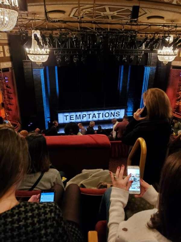 Imperial Theatre, section: Rear Mezzanine 4, row: E, seat: 1-2