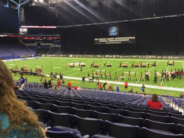 Lucas Oil Stadium, section: 137, row: 24, seat: 2