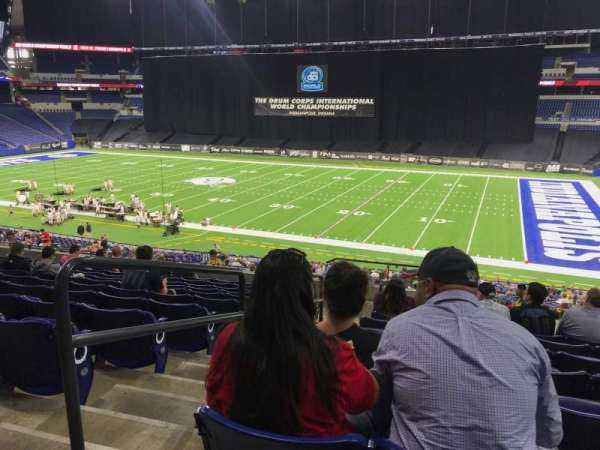 Lucas Oil Stadium, section: 236, row: 12, seat: 23