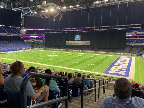 Lucas Oil Stadium, section: 235, row: 13, seat: 31