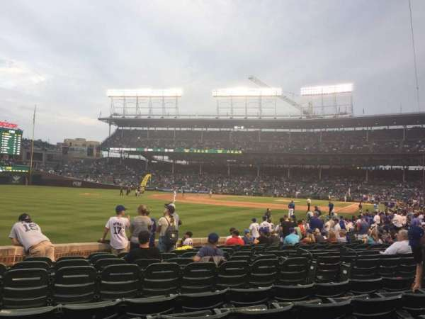 Wrigley Field, section: 102, row: 4, seat: 2