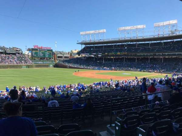 Wrigley Field, section: 205, row: 6, seat: 21