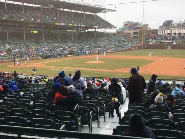 Wrigley Field, section: 226, row: 2, seat: 7