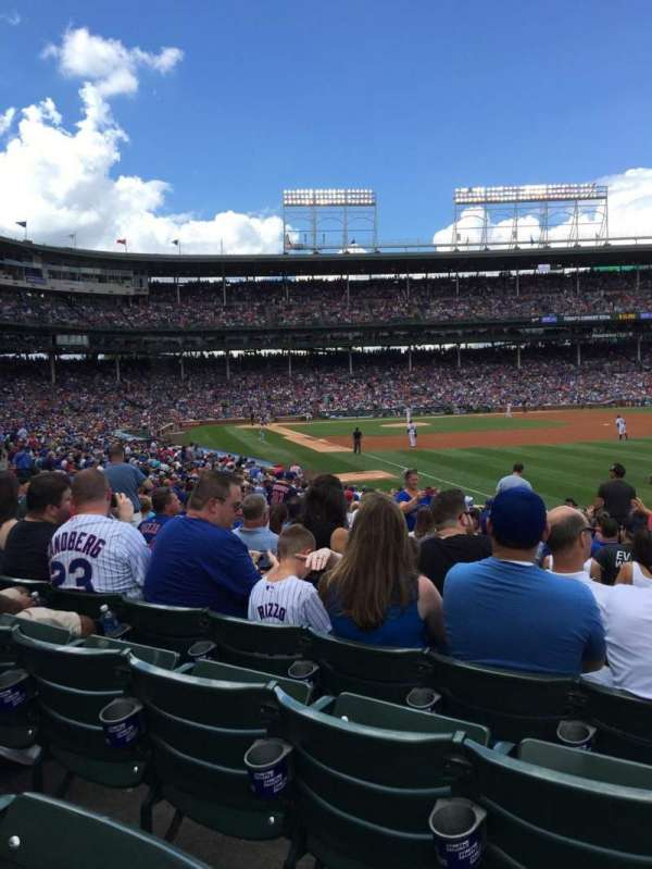 Wrigley Field, section: 132, row: 14, seat: 9