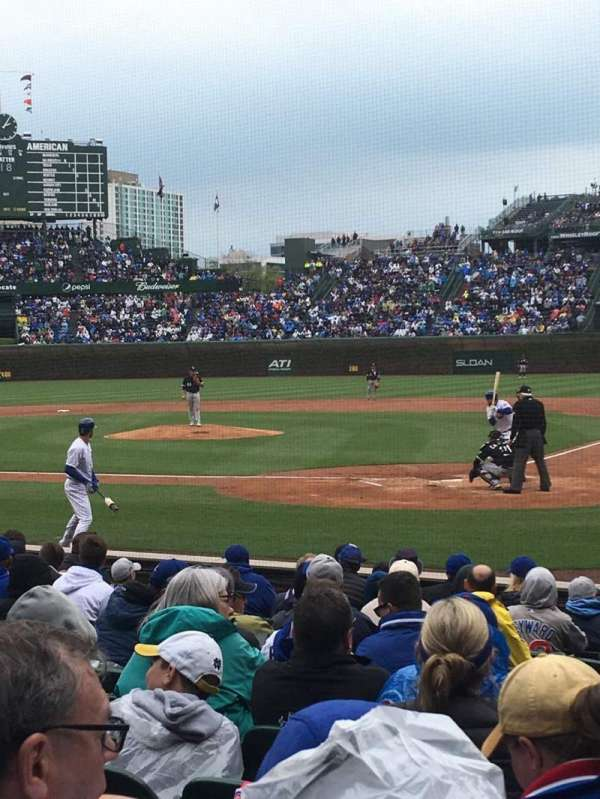 Wrigley Field, section: 19, row: 10, seat: 104