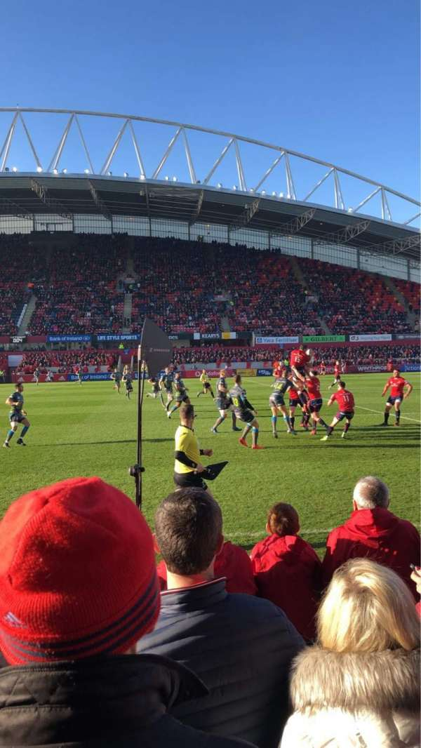 Thomond Park, section: East, row: Terrace , seat: North