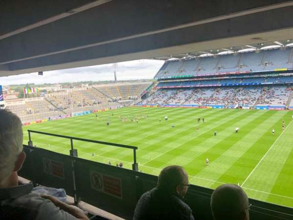 Croke Park, section: 681, seat: 12