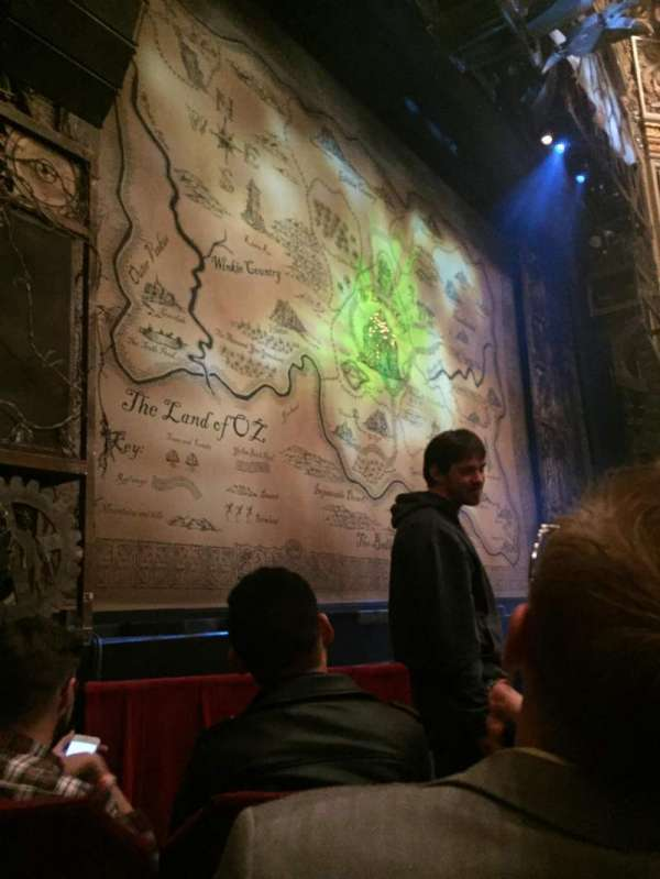 Nederlander Theatre (Chicago), section: Orchestra L, row: D, seat: 17
