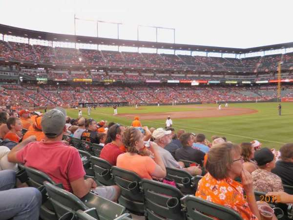 Oriole Park at Camden Yards, section: 12, row: 10, seat: 3
