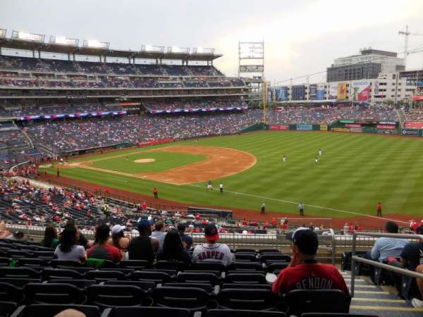 Nationals Park, section: 225, row: J, seat: 2