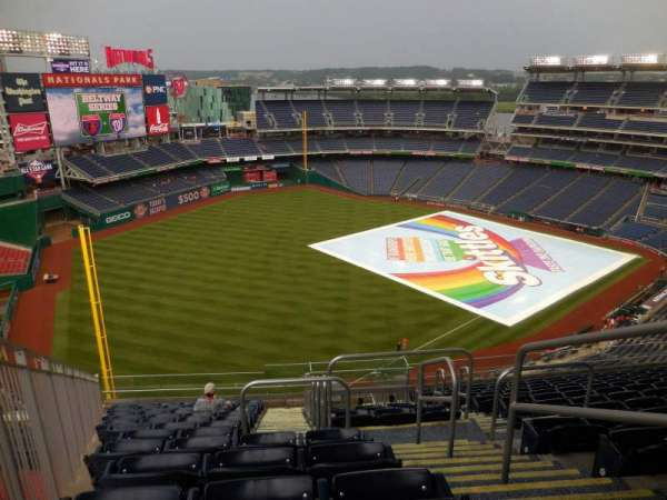Nationals Park, section: 401, row: N, seat: 3