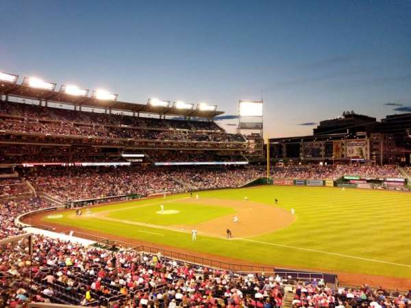 Nationals Park, section: 223, row: B, seat: 8